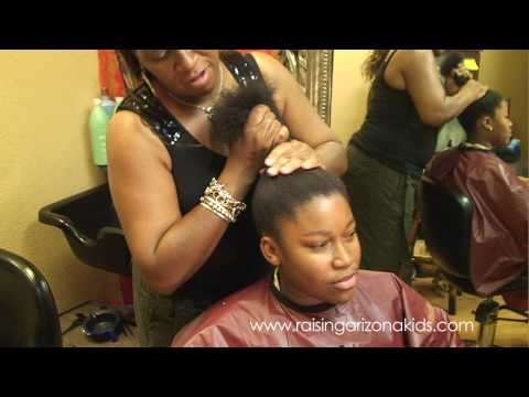 Caring for your child's African American hair