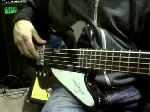 gibson thunderbird 5 string electric bass guitar ebay demo youtube. Black Bedroom Furniture Sets. Home Design Ideas