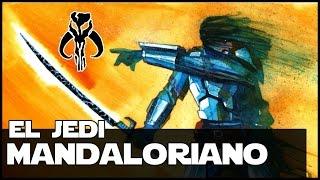 Star wars El Jedi Mandaloriano Tar Vizla - El Origen Del DarkSaber