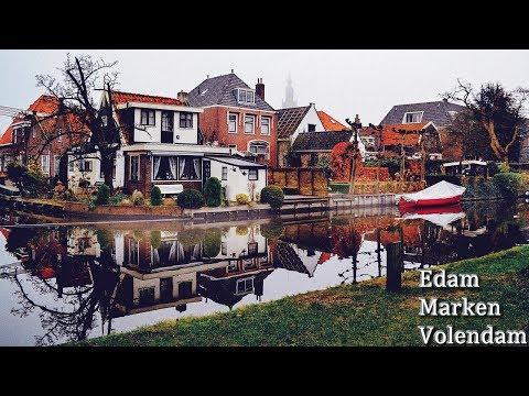 Amsterdam Köyleri Turu 1 | Edam, Volendam, Marken, Broek In Waterland