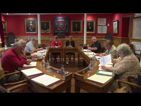 Town Council General Purposes Committee meeting in the Guild Hall Dartmouth [ 2 ]