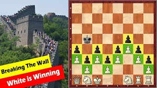 "Another Chess Puzzle Known As ""The Chinese Wall"""