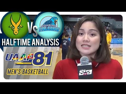 UAAP 81 MB: FEU vs. AdU | Halftime Analysis | November 18, 2018