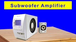 Repairing Subwoofer Amplifier by Replacing IC PT2313L Solder with Fingers news today infor