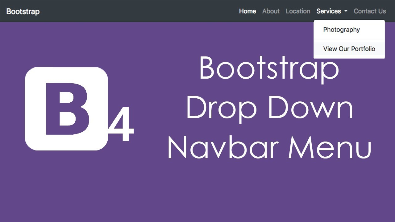 bootstrap dropdown example download