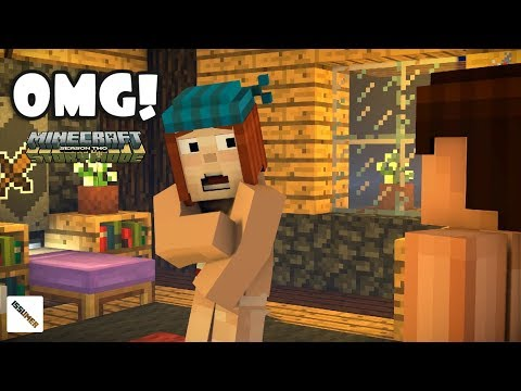OMG! SHAME! Minecraft Story Mode Season 2 Episode 4