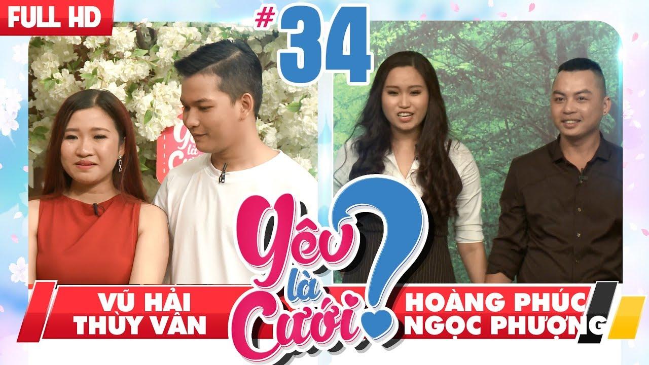 YÊU LÀ CƯỚI? | YLC #34 UNCUT | Chàng trai la làng 'Anh yêu em' - Hôn mở mắt vì người yêu đẹp quá