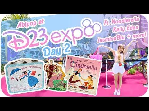 ♡ VINTAGE DISNEY TOYS, DISNEY SECRETS & DISNEYBOUNDS!!♪ ♡ | D23 Expo 2017 - Day 2 ºoº | Abipop