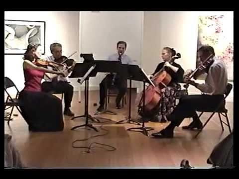 Brahms Clarinet Quintet, Op. 115, 1st Mvt.