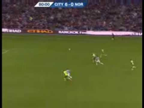 Jesus Navas lightning bolt speed!