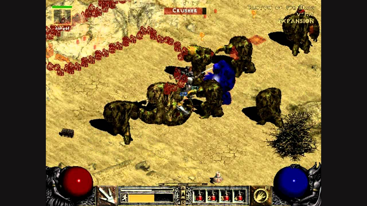 Lets Play Diablo LOD Episode Canyon Of The Magi - Most recent magi map by us states