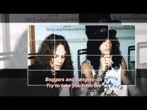 Slash's Snakepit - Beggars & Hangers-On (with lyrics)