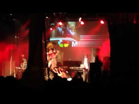 Kurupt FM Takeover @ Shangri Hell, Glastonbury Festival 2014, Wolf of Wallstreet 'Humming'
