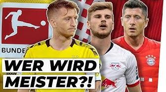Großer Meister-Check: Dieser Verein holt die Schale?! |Bundesliga Vorschau |Teil 3/3