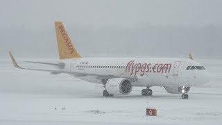 Planespotting Frankfurt Airport December 2017 - SNOWSTORM SPECIAL