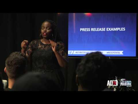 #ADTVmasterclass How To Create A Press Release In The Music Industry (@AmaruDonTV)