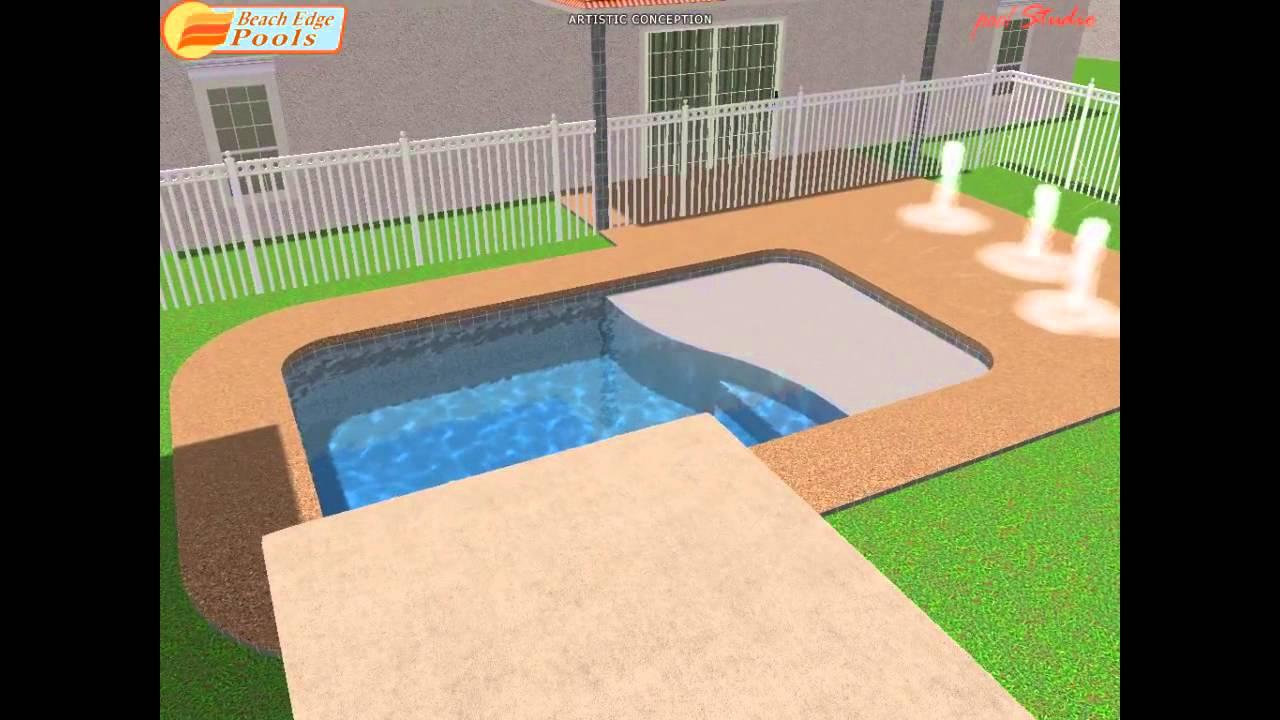 swimming pool design play pool with splash deck
