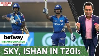 SKY, ISHAN and TEWATIA in T20Is vs England | Betway Mission Domination | India Squad ANNOUNCEMENT