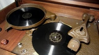 RCA Victor Record Changer 1931 Radiola Automatic Electrola RAE-26 Demonstration