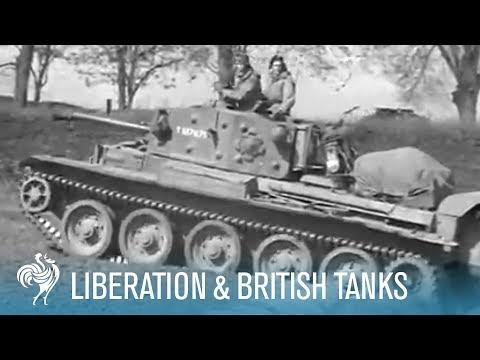 Germans Surrender Tanks (1945)
