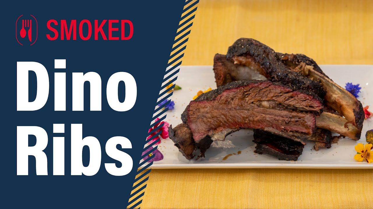 How to Smoke DINO Ribs