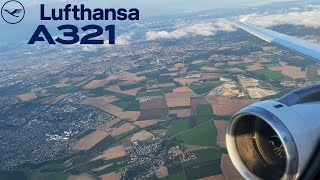 Lufthansa [Business] Airbus A321 🇫🇷 Paris CDG - Frankfurt FRA 🇩🇪  + lounge [FULL FLIGHT REPORT]
