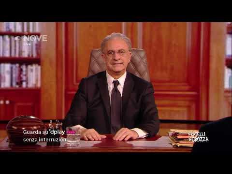 Crozza De Luca 'Salvini quando parli della Campania devi alzarti in piedi'
