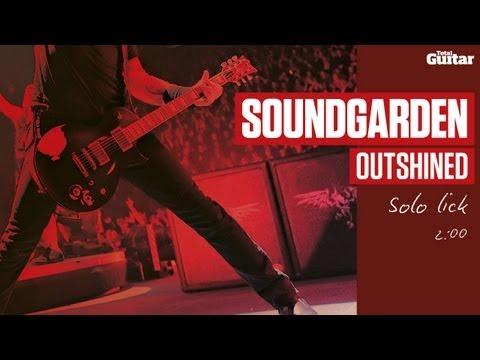 Guitar Lesson: Soundgarden 'Outshined' technique focus (TG218)