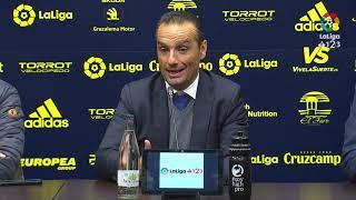 Rueda de prensa de José Luis Oltra tras el Cádiz CF vs CD Tenerife (2-0)