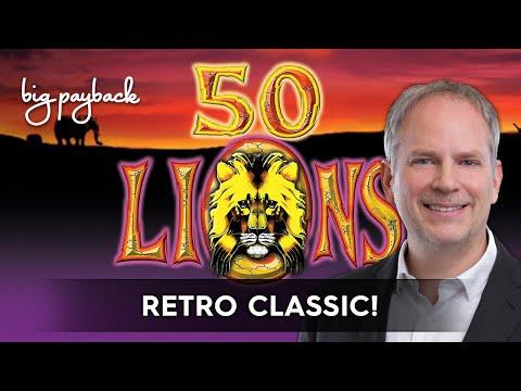 50 Lions Slot - BIG WIN SESSION! - 동영상