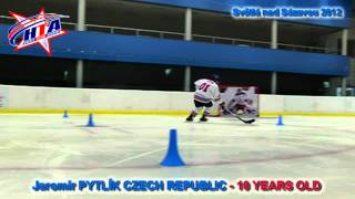 JAROMÍR PYTLÍK TALENTED CZECH ICE HOCKEY PLAYER - 10 YEARS OLD