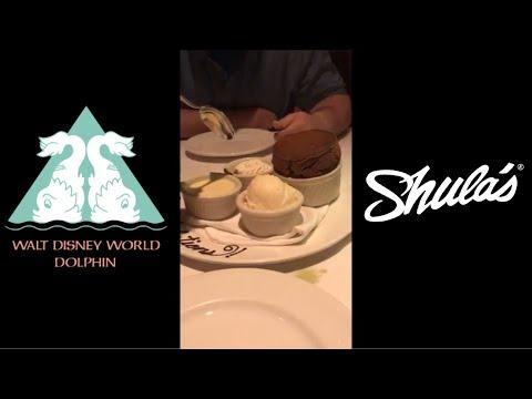 Mini Vlog: Shula's Steakhouse At Disney World's Dolphin Resort
