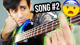 Top 10 EASIEST Bass Lines (number 2 will SHOCK YOU so much that you'll need therapy for 5 years)