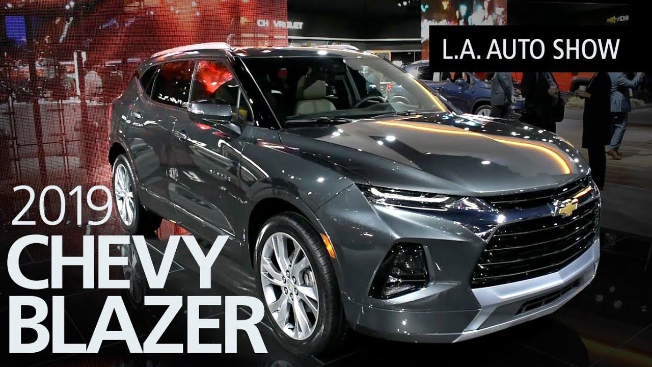 2019 Chevrolet Blazer SUV Walkaround - YouTube