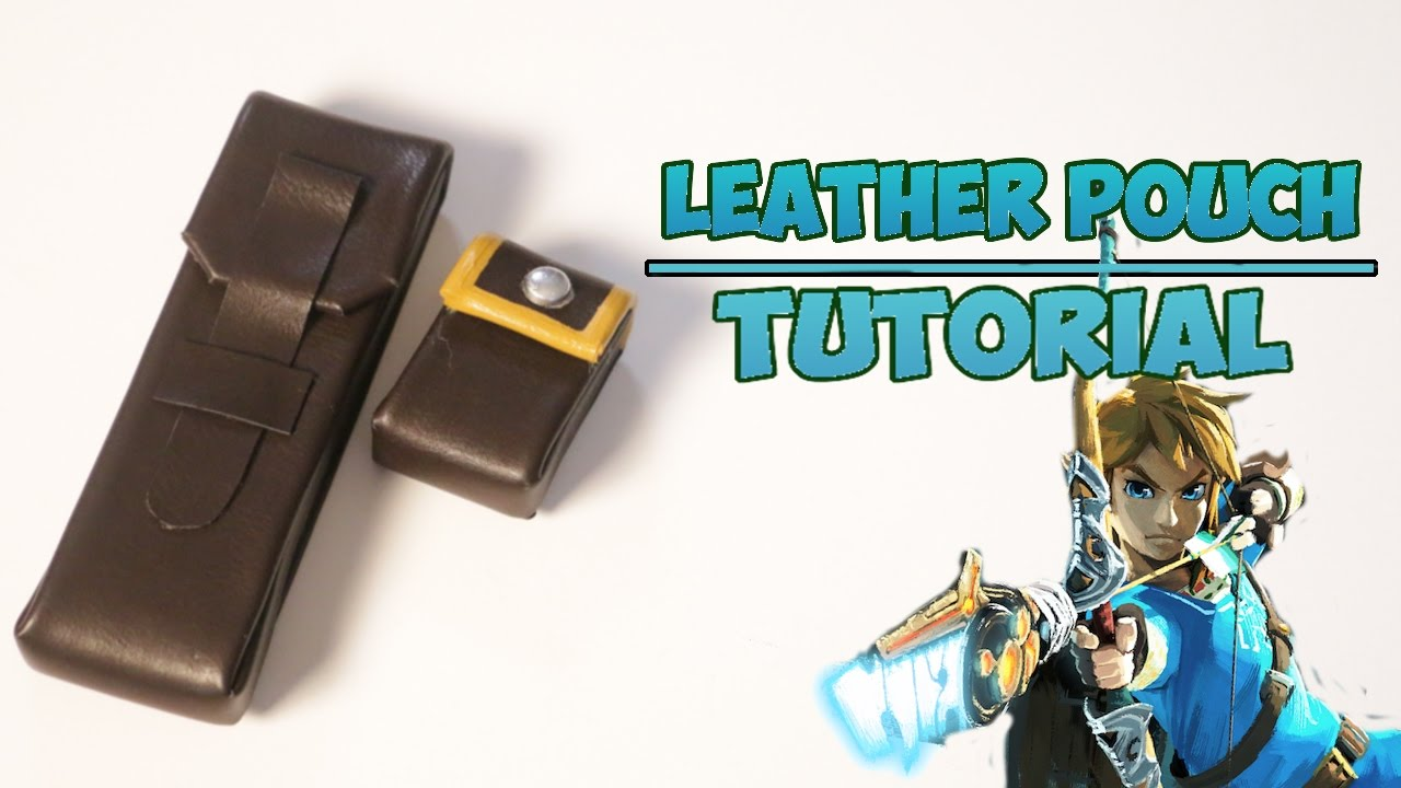 Leather pouch tutorial botw link cosplay youtube leather pouch tutorial botw link cosplay baditri Images