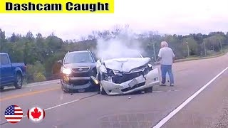 Ultimate North American Cars Driving Fails Compilation - 106 [Dash Cam Caught Video]