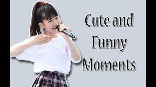 Cute and Funny compilation of Momoe Mori (森萌々穂) from Sakura Gak...