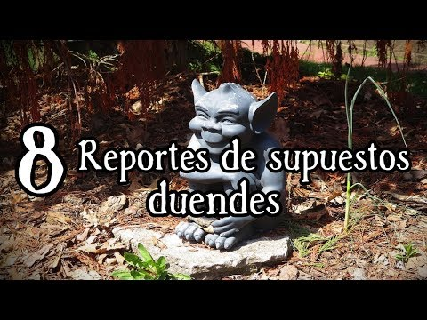 8 Duendes REALES captados en VIDEO | TOP 8