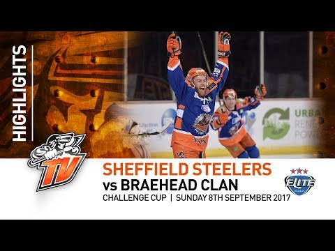 Sheffield Steelers v Braehead Clan - CC - 8th October 2017