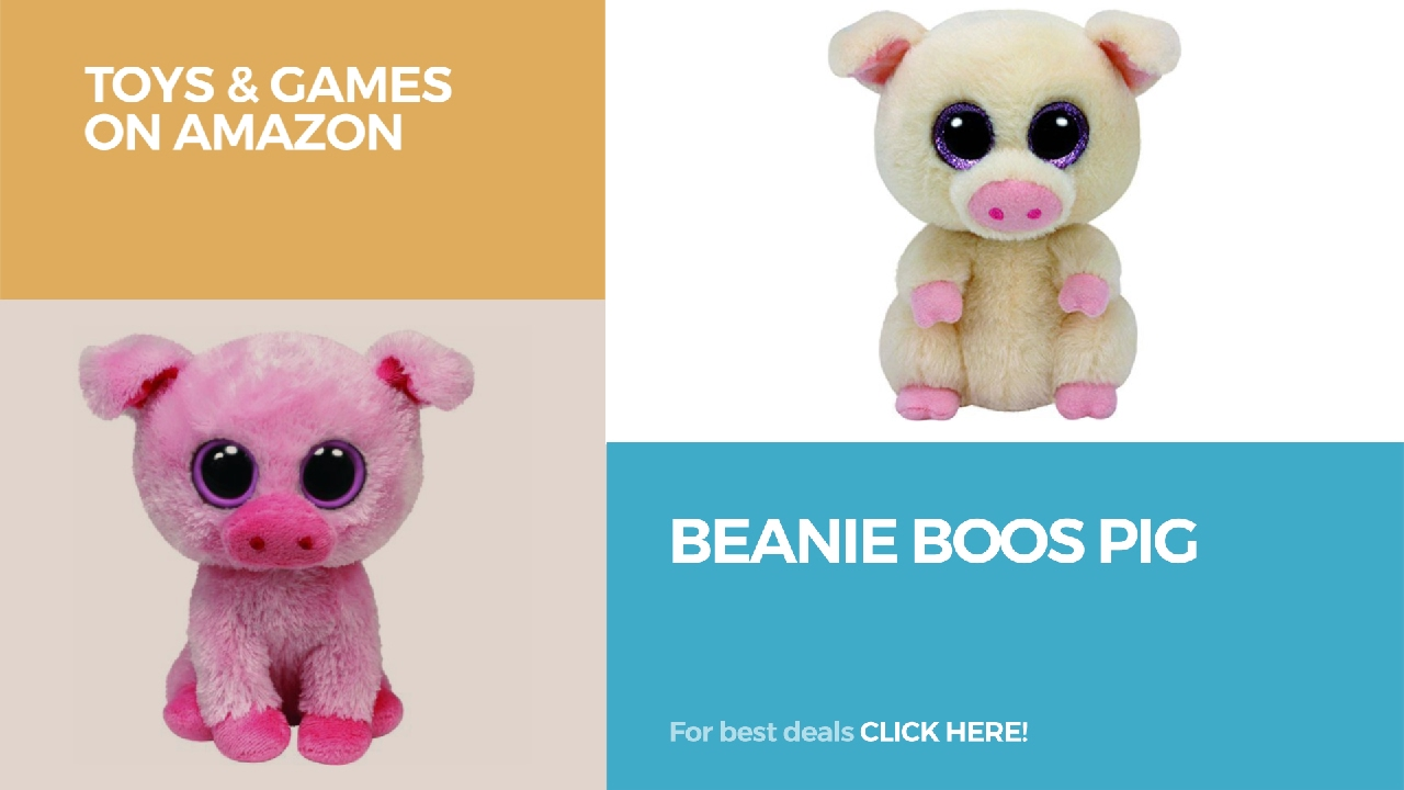 10ad647a8c8 Beanie Boos Pig    Toys   Games On Amazon - YouTube