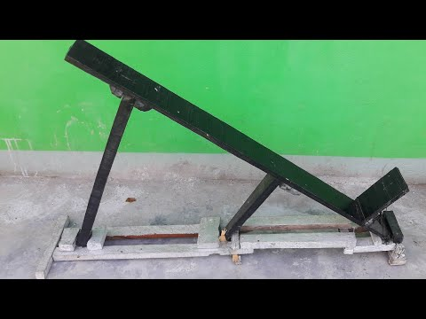 HOW TO MAKE INCLINED BENCH AT HOME | WOODEN BENCH || ANISH FITNESS ||