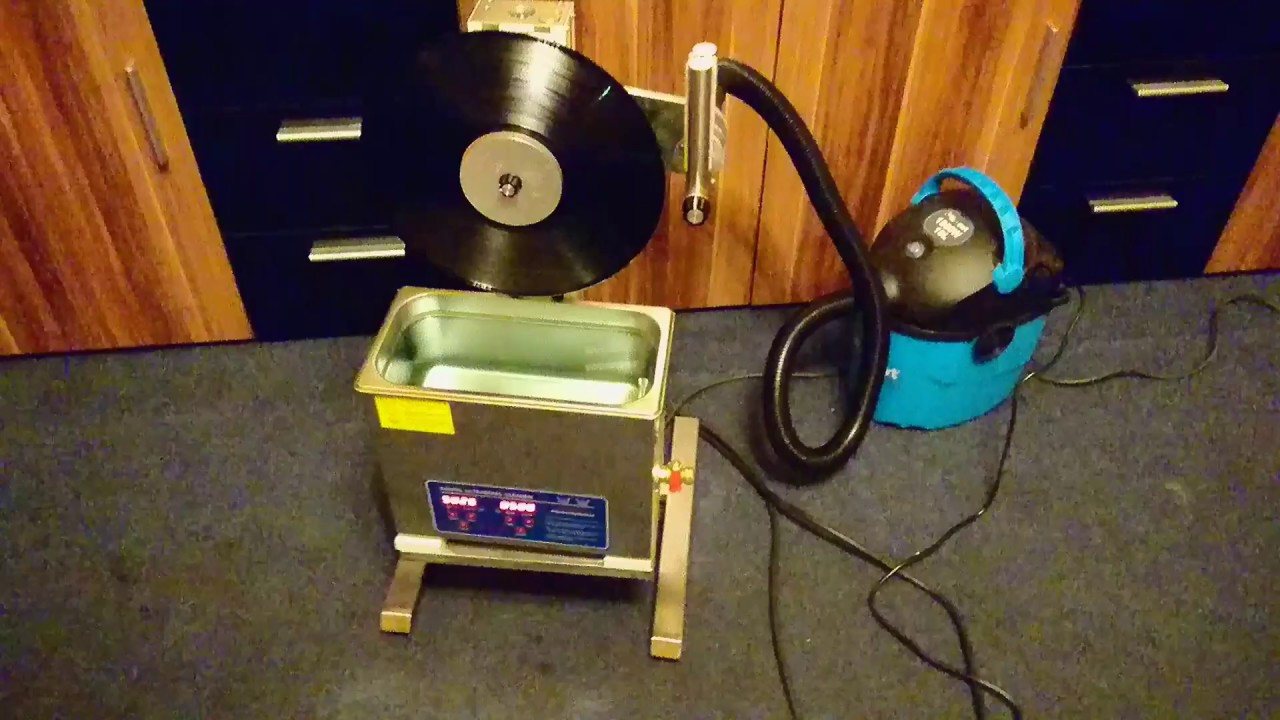 Diy Vinyl Record Cleaning Machine Ultrasonic Vacuum