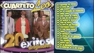 CUARTETO LEO 20 GRANDES EXITOS CD ENTERO COMPLETO