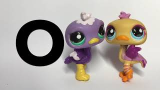 ABC with Littlest Pet Shop (LPS) - Learn Letters With Toy Animals