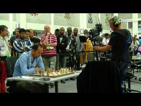 Kramnik Beats Topalov: Chess Olympiad Round 5