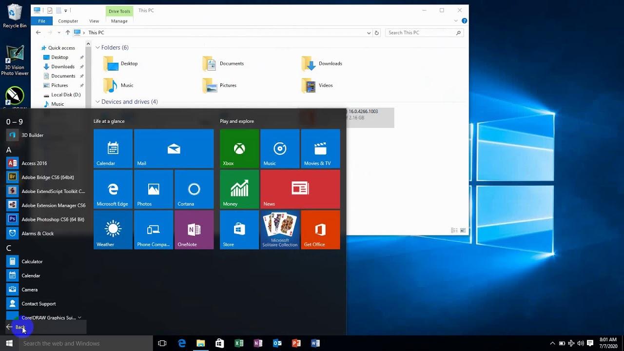 تنصيب برنامج Setup ar office 2016 x86 x64 - YouTube