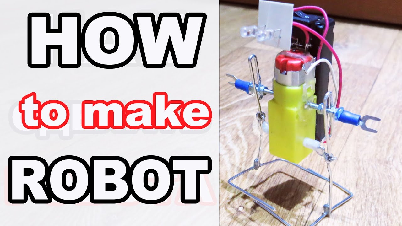 How To Make a Walking Robot At Home (Awesome) - YouTube