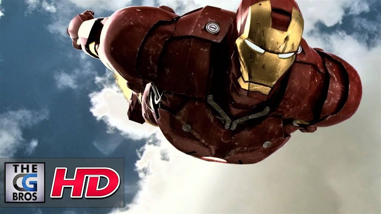 VFX Breakdown : Ironman Flying Shot by Alex Halstead - YouTube