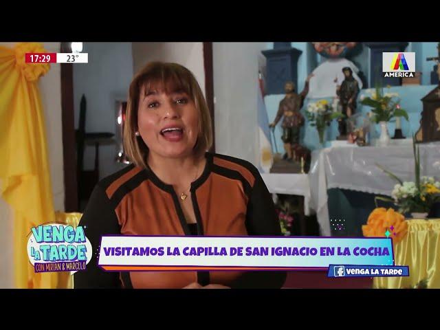 VENGA LA TARDE EN LA CAPILLA DE SAN IGNACIO