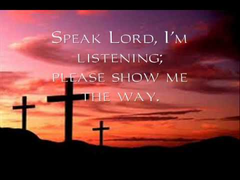 Speak Lord I'm Listening - John B. Miller